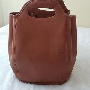 Coach Bags - Vintage Coach Leather Drawstring Backpack